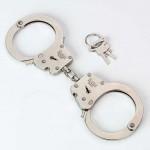 RALKEM 9924 - Handschellen Handfesseln Kette Nickel HAND-CLICK